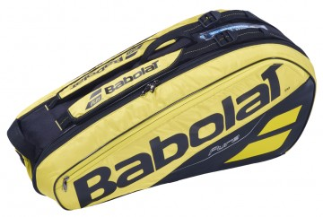 Babolat Thermobag 6R Pure Aero Yellow / Black